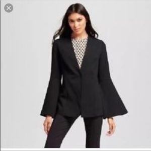 Who What Wear Bell Sleeve Blazer Size M